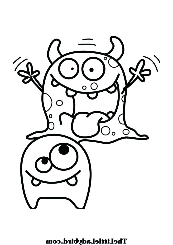 728x1029 Halloween Monster Coloring Pages Download Monsters Unleashed