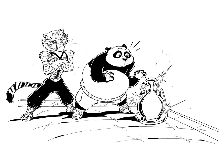 900x587 Kung Fu Panda Muscle Growth