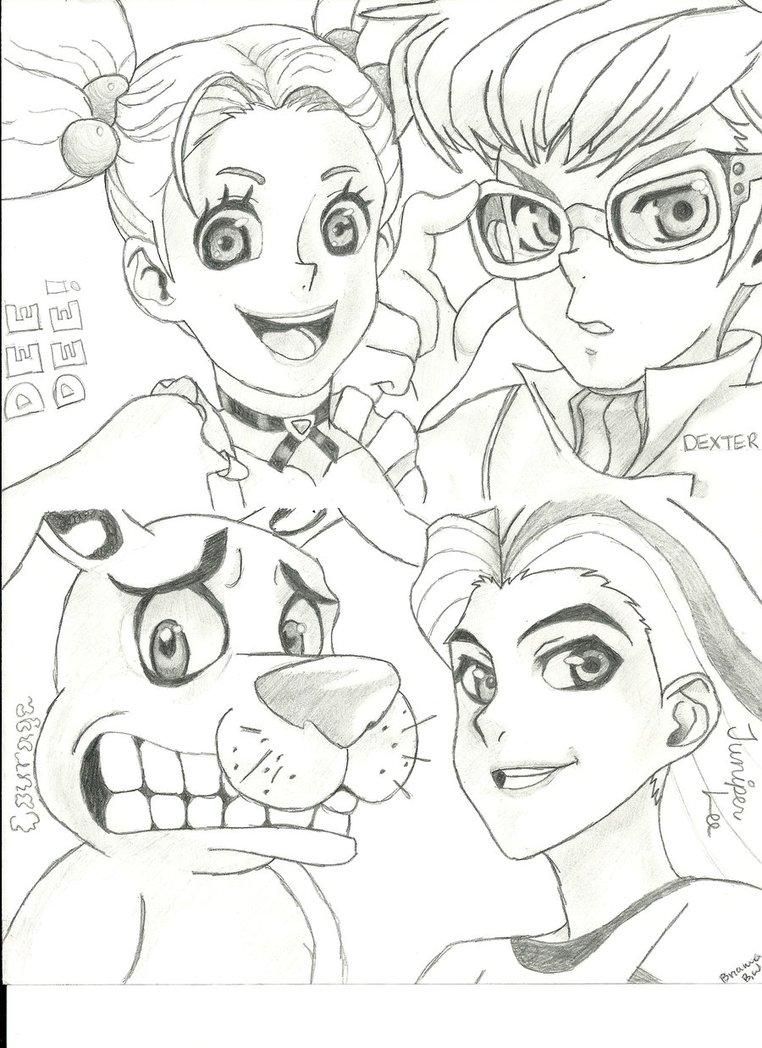 762x1048 Cartoon Network Characters By Melloyello66