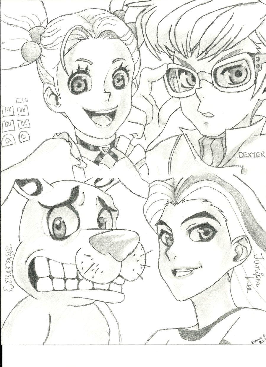 900x1238 Cartoon Network Characters By Melloyello66