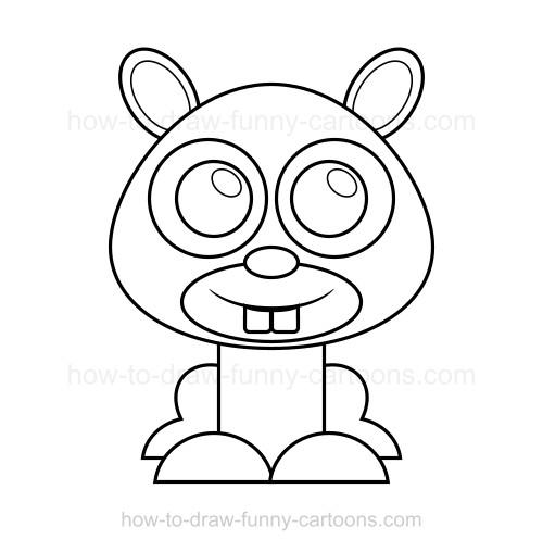 500x508 To Draw A Mole