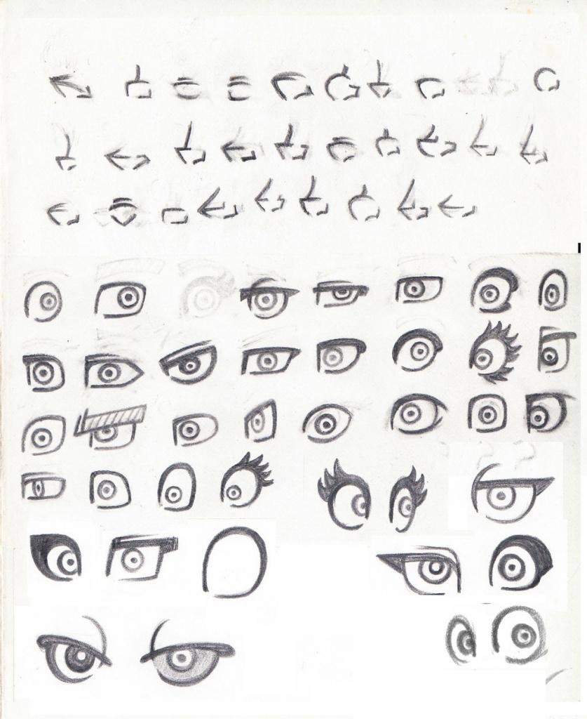 837x1024 Cartoon Nose Drawing Style Study Cartoon!eyes And Nosekwistarplus
