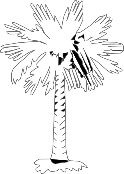 426x599 Palm Tree Clip Art