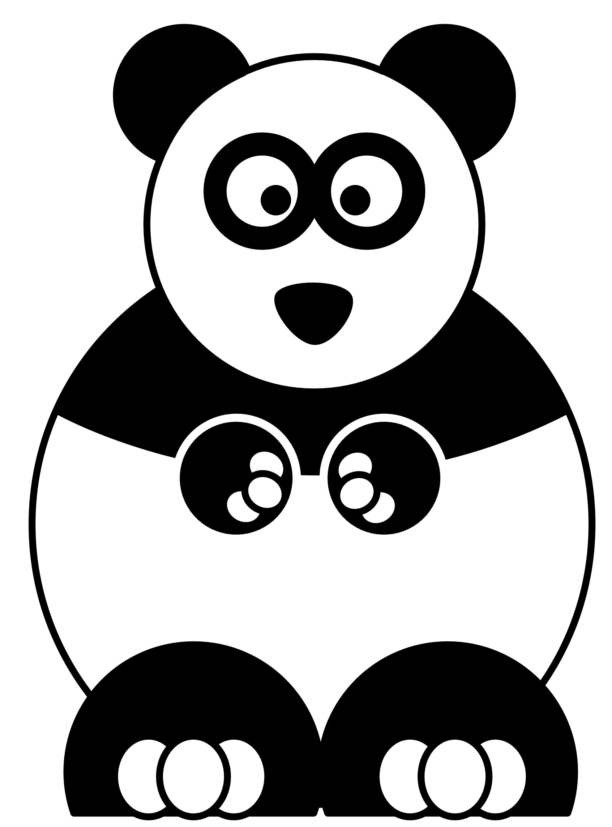 1979x2673 Spectacular Panda Coloring Pages