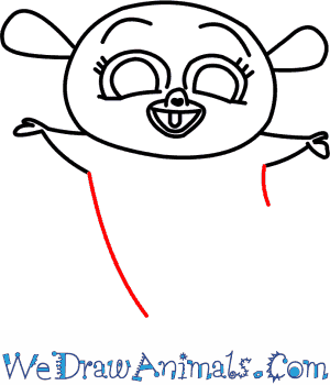 300x350 How To Draw Mort From Penguins Of Madagascar