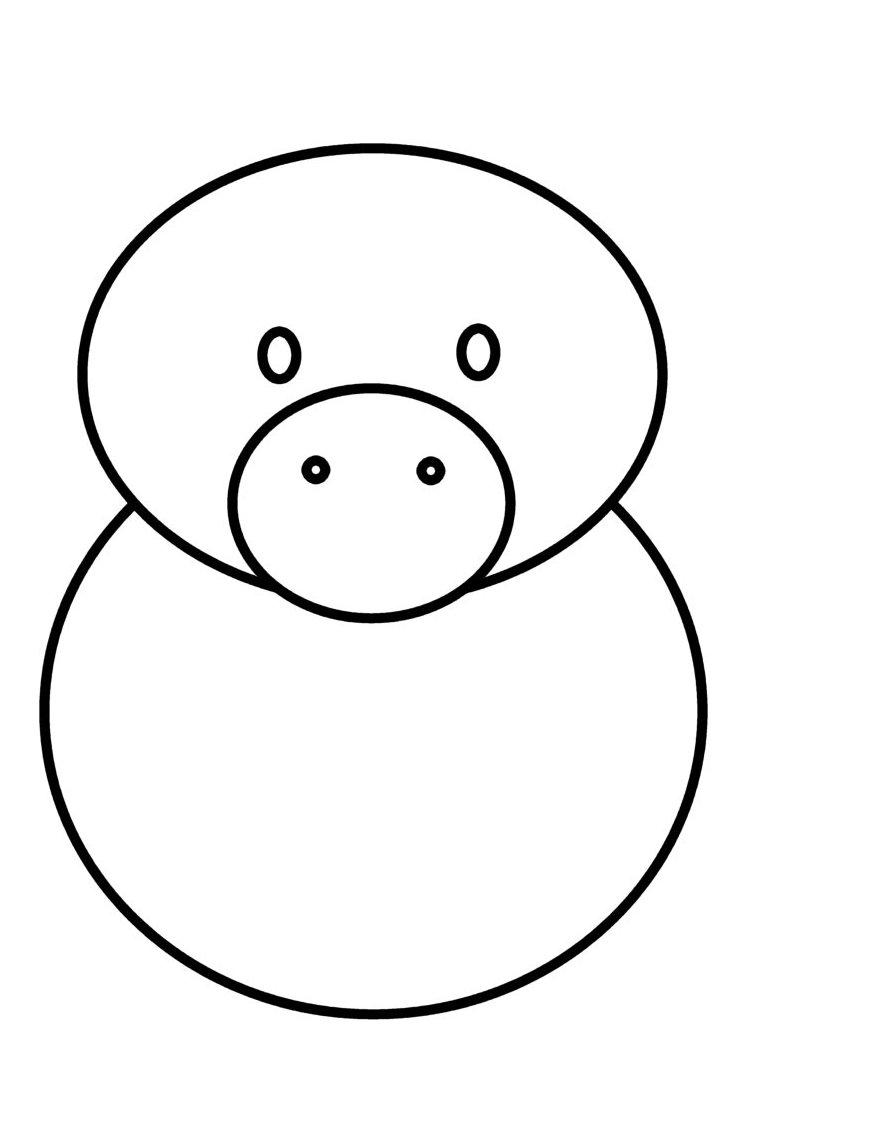 874x1146 How To Draw Cartoons Pig