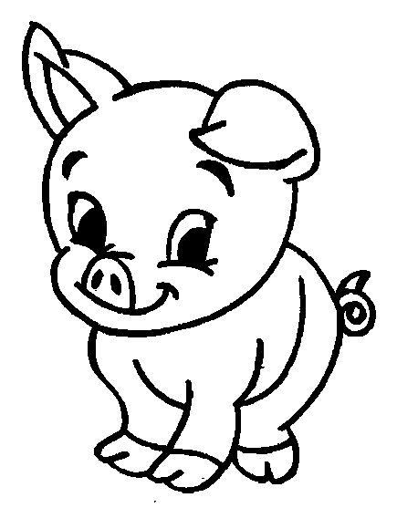 435x557 The Best Pig Drawing Ideas On Pig Sketch, Pig