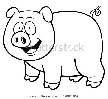 450x414 Coloring Book Pig Together With Drawing Pig Coloring Book