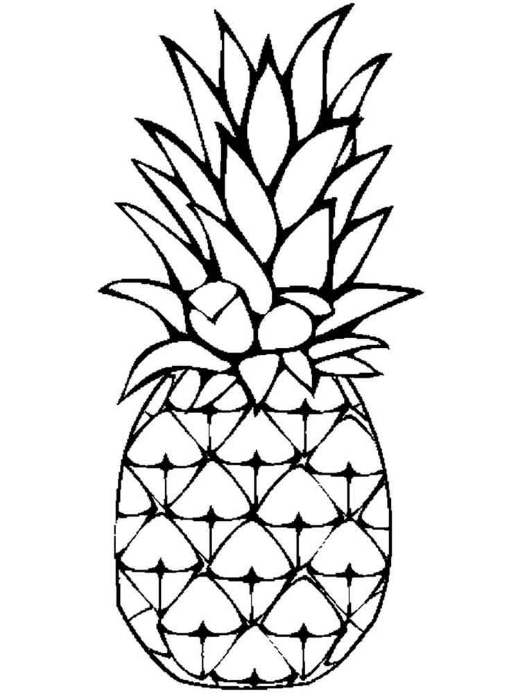 Cartoon Pineapple Drawing at GetDrawings | Free download