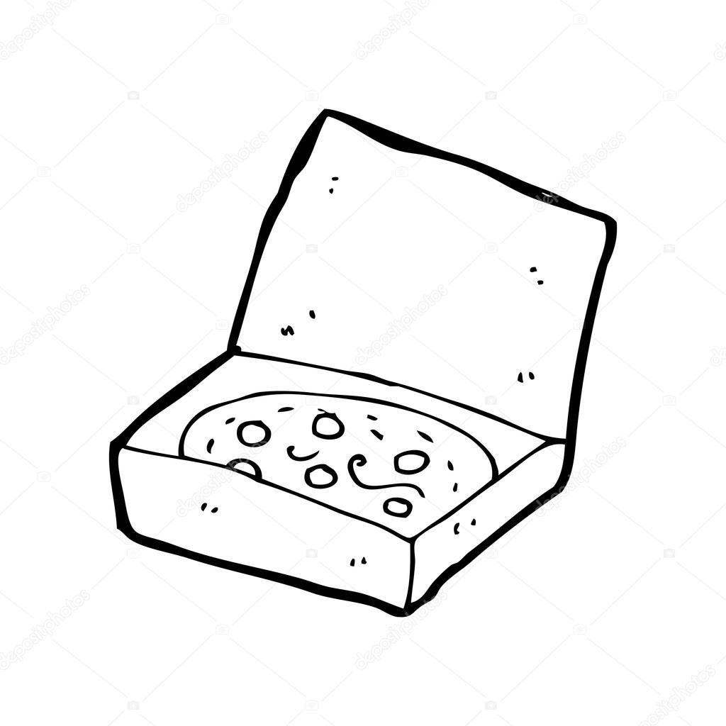 1024x1024 Cartoon Pizza Stock Vector Lineartestpilot