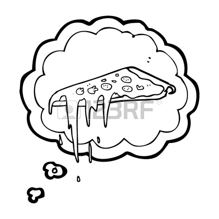 450x450 Freehand Drawn Cartoon Pizza Royalty Free Cliparts, Vectors,