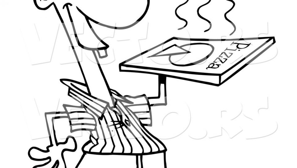 960x544 Pizza Coloring Pages Kids Printable Free For To Color And Download
