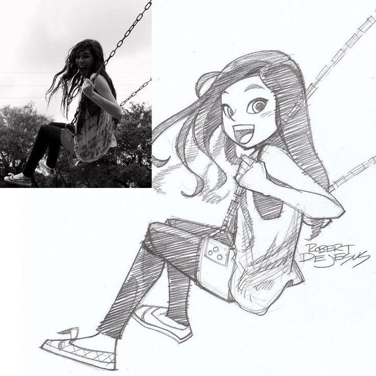 Cartoon Portrait Drawing