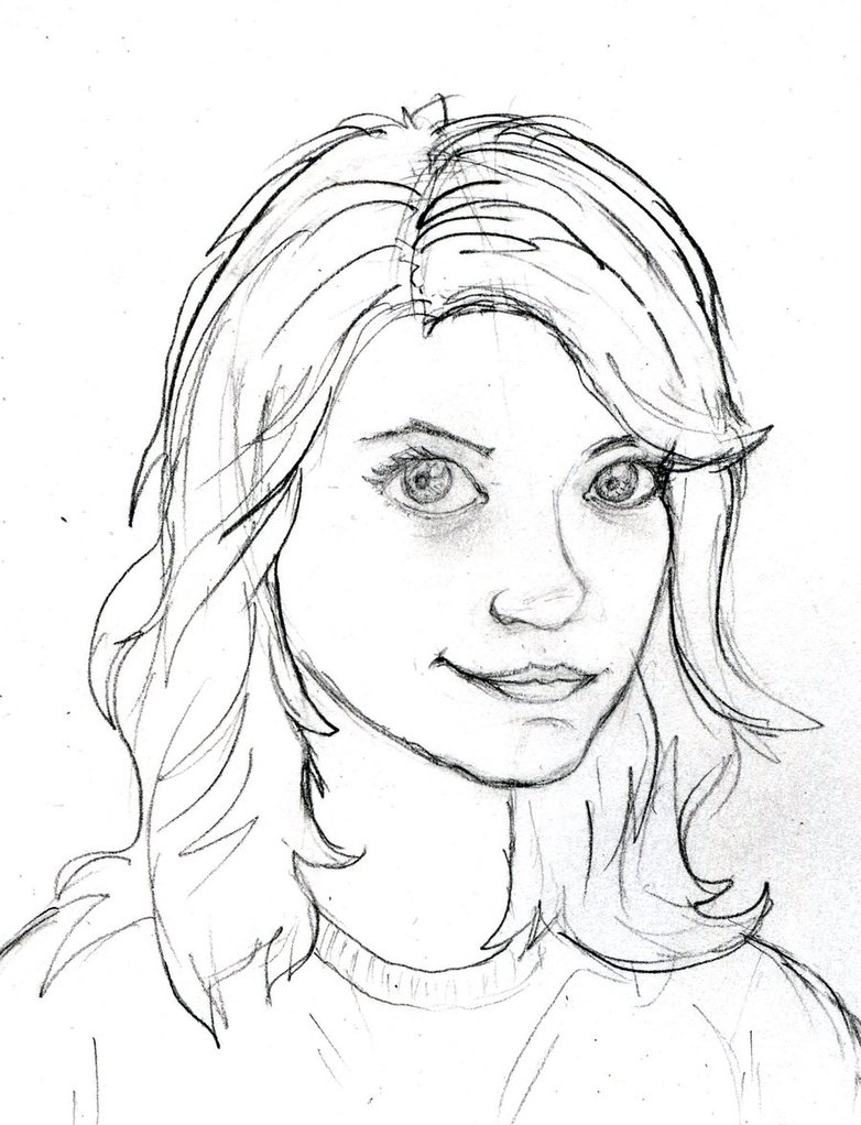 782x1022 Self Portrait In Kinda Cartoon Stylexd By Msvillainess