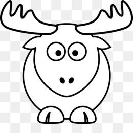 260x260 Free Download Domestic Pig Cartoon Reindeer Drawing Clip Art