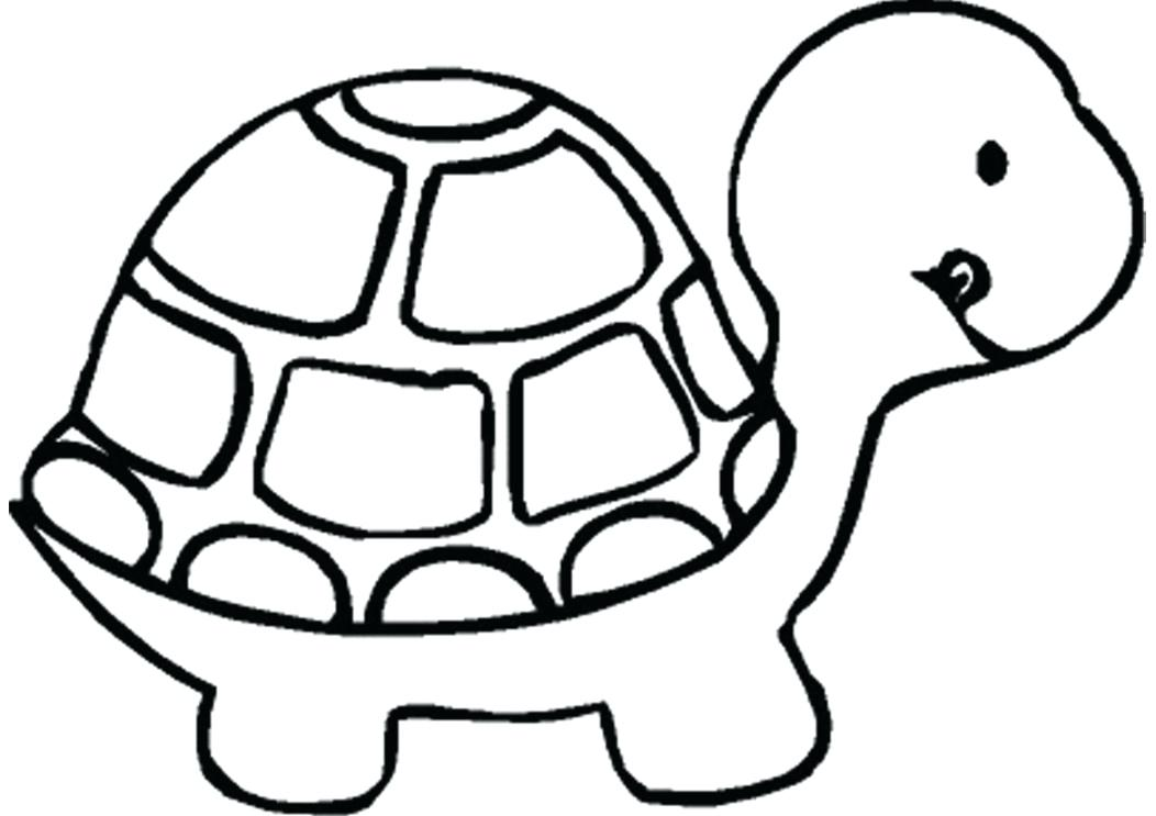 1052x743 Cartoon Turtle Coloring Pages Turtle Coloring Pages Cartoon Sea