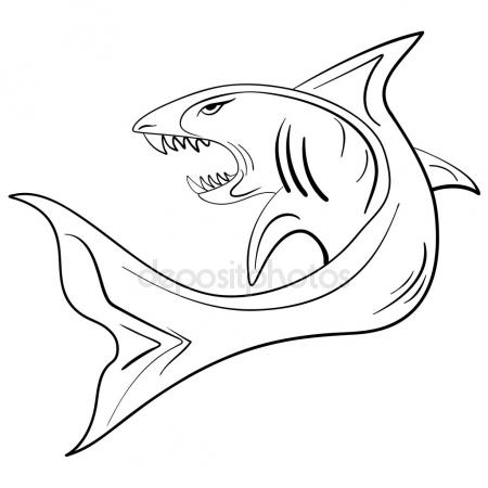 450x450 Shark Open Mouth Stock Vectors, Royalty Free Shark Open Mouth