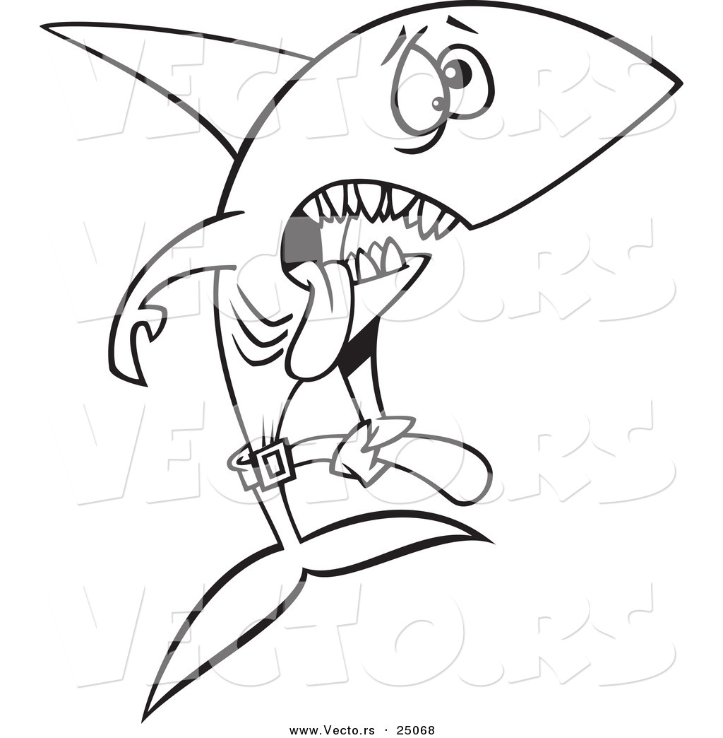 Cartoon Sharks Drawing at GetDrawings.com | Free for personal use ...