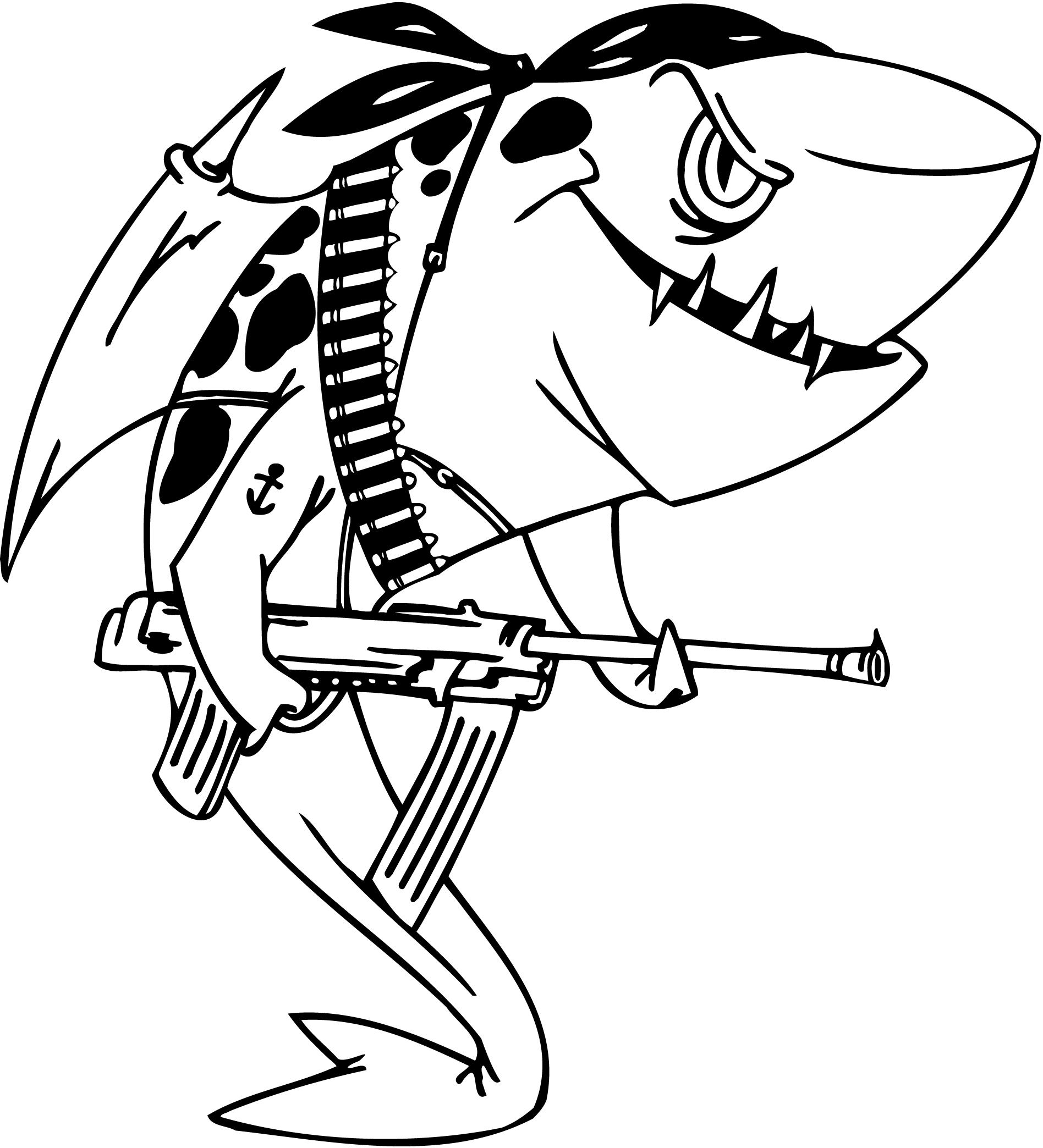 Cartoon Sharks Drawing At Getdrawings Com Free For Personal Use