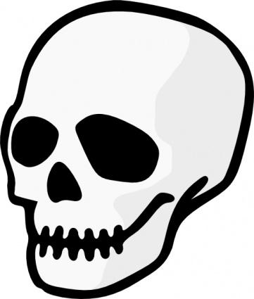 361x425 Skull Clipart Cartoon