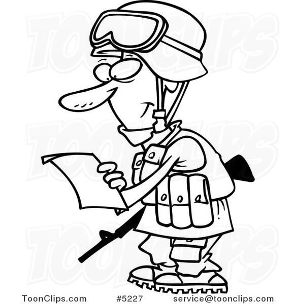 Cartoon Soldier Drawing at GetDrawings com | Free for