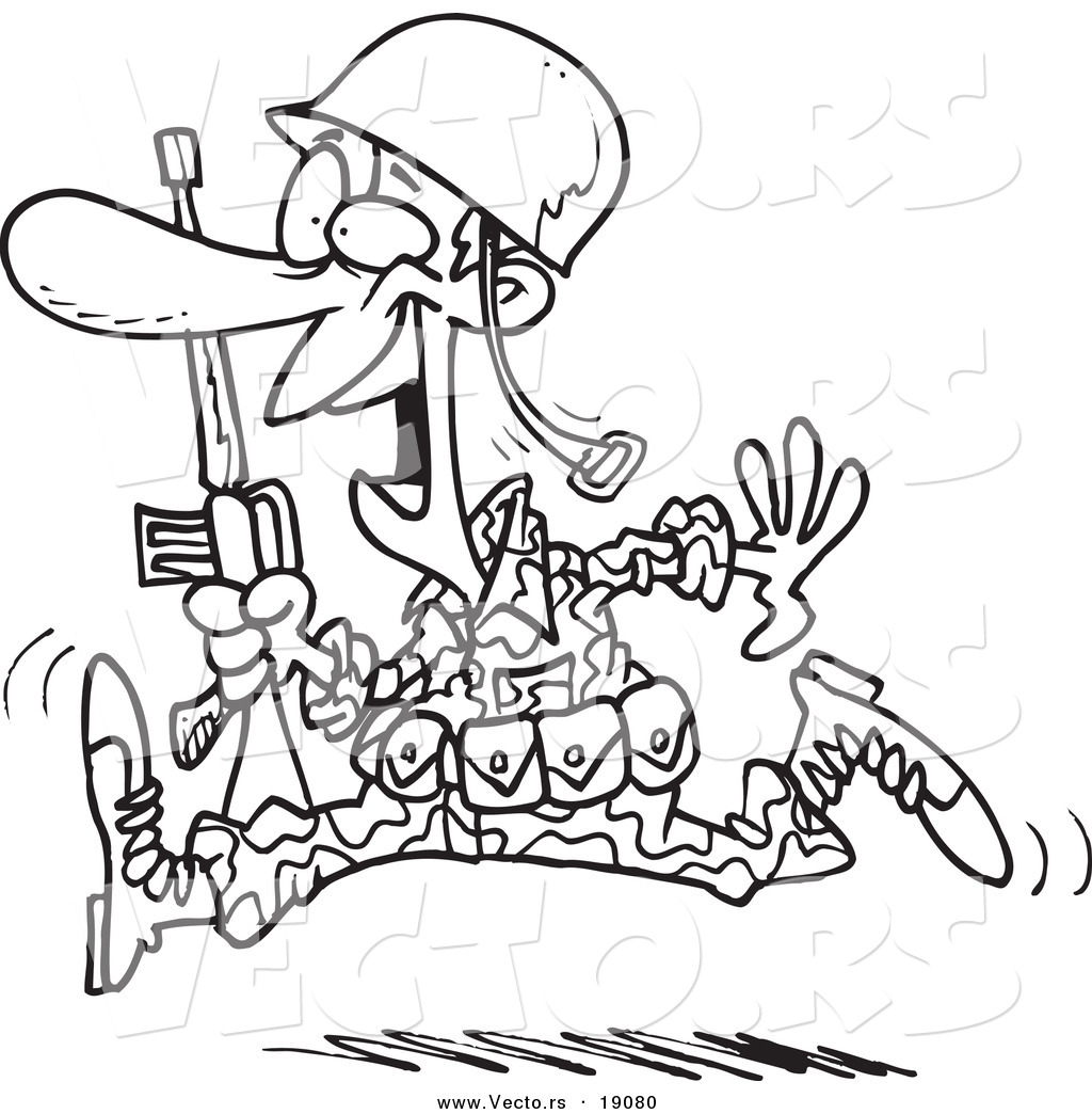 1024x1044 Soldier Drawing Cartoon (Id 91157) Buzzerg