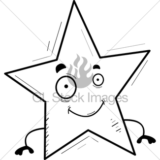 325x325 Cartoon Star Gl Stock Images