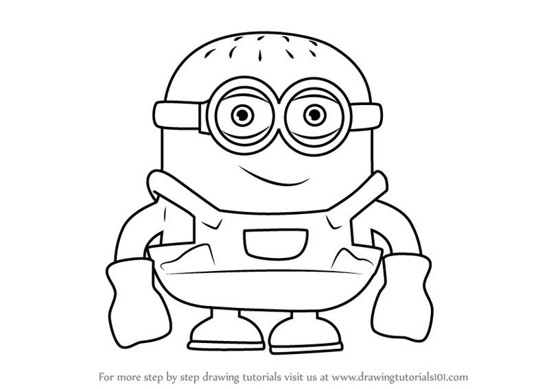 800x567 Learn How To Draw Minion Cartoon (Cartoons For Kids) Step By Step