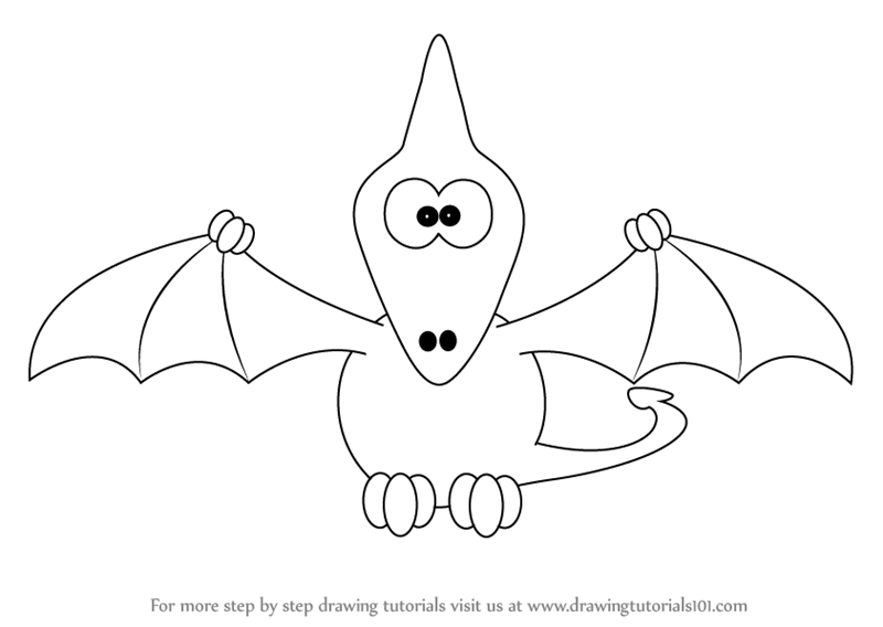 800x568 Drawing Cartoon Dinosaur Drawing Tutorial Also Dinosaur Drawing