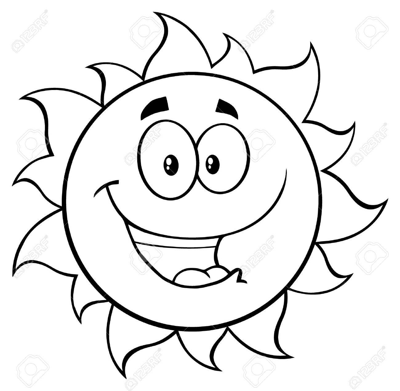 Line Drawing Sun Vector : Cartoon sun drawing at getdrawings free for personal