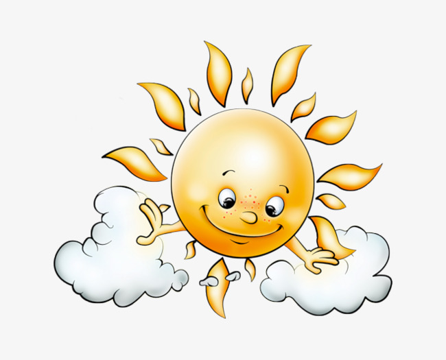 650x525 Cartoon Sun, Hand Painted, Sun, Cartoon Png Image For Free Download