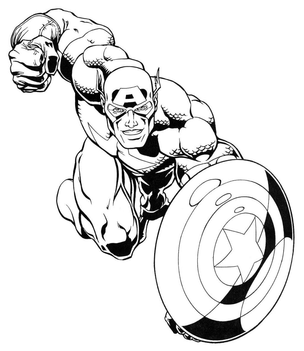 1024x1182 Coloring Drawing Marvel Super Heroes Comic Book Coloring Pages