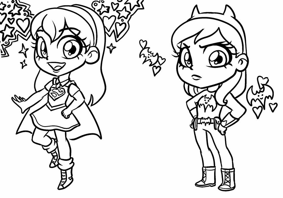900x631 Dc Super Hero Girls Get Artistic In Their Latest Comic Series Dc