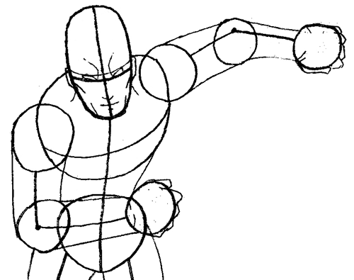 500x395 How To Draw Flash From Dc Comics With Easy Step By Step Drawing
