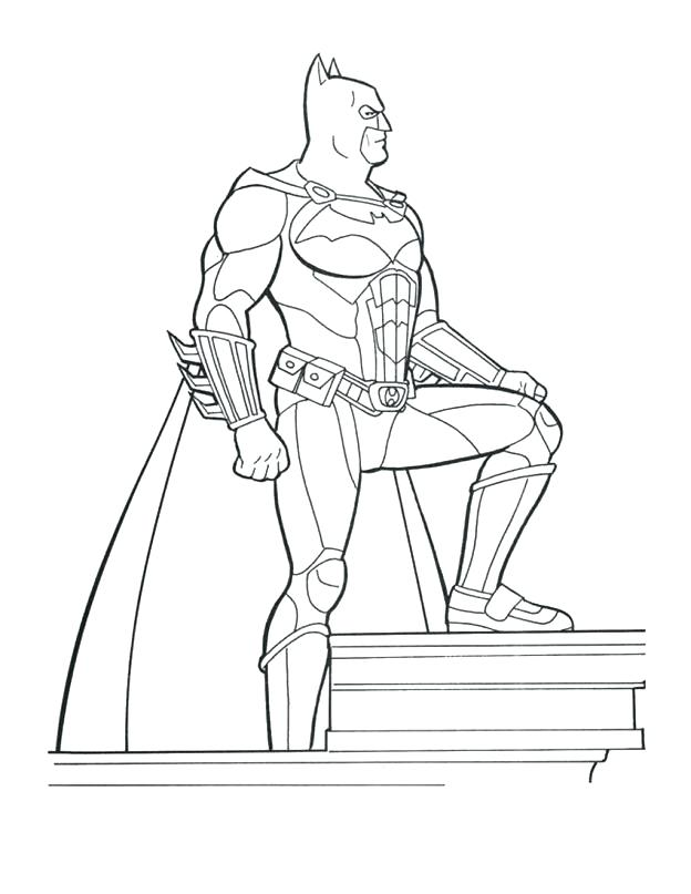 624x807 Great Batman Cartoon Coloring Pages Best Of Picture To Color Page