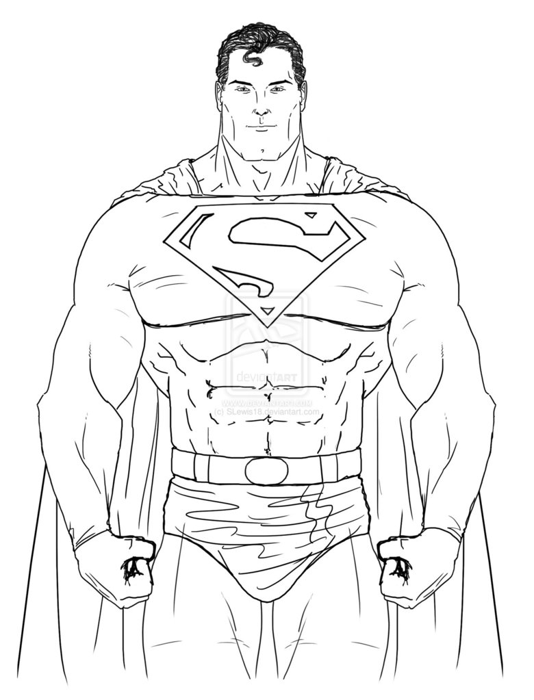780x1023 Superman Cartoon Drawing Drawn Superman Supe