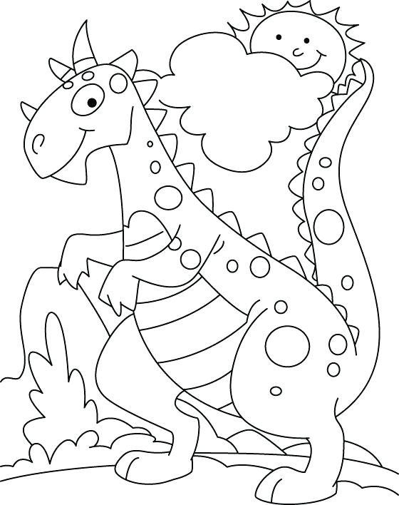 560x708 Dinosaur Coloring Pages Coloring Pages Of Dinosaurs Drawing Kids