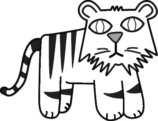 504x386 Fun With Lion Coloring Pages