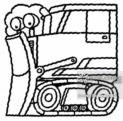 400x394 Dump Truck Cartoons And Comics