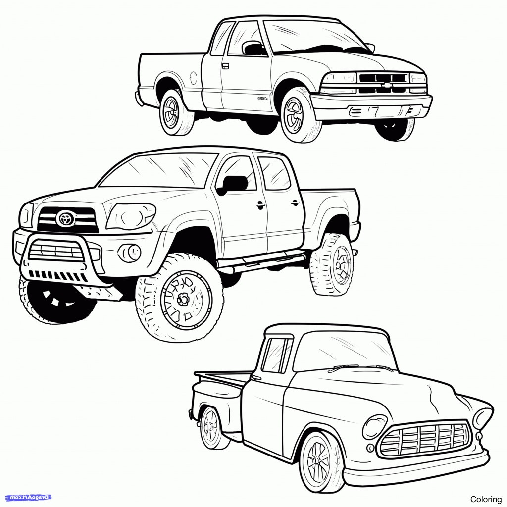 1024x1024 Maxresdefault How To Draw A Truck Step By Coloring Trailer Easy