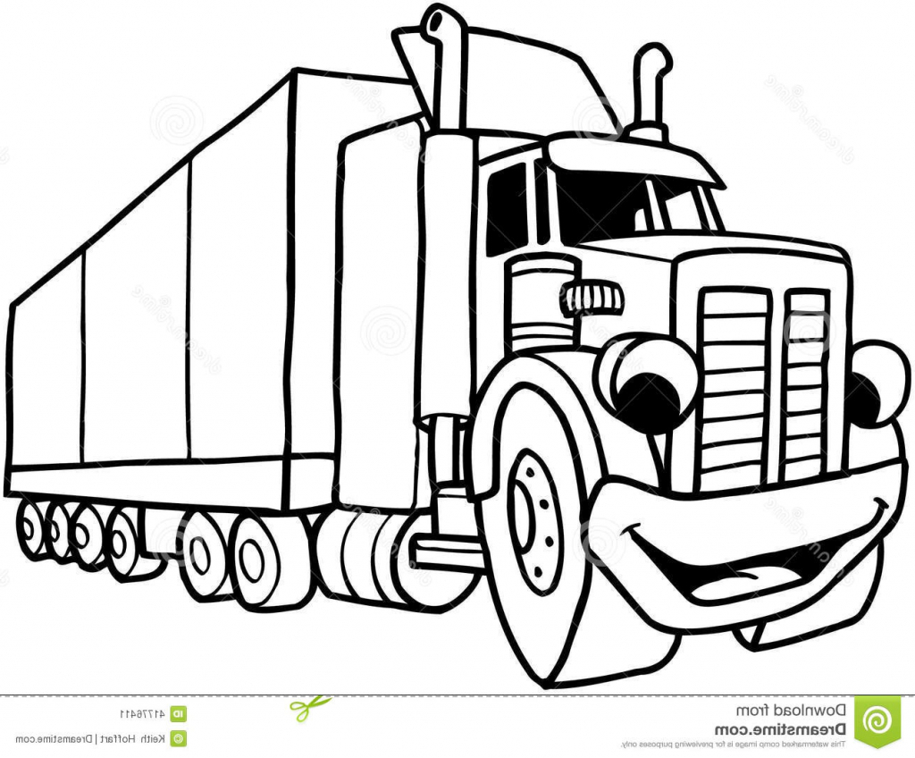 1024x848 Cartoon Drawings Trucks Cartoon Drawings Trucks How To Draw A