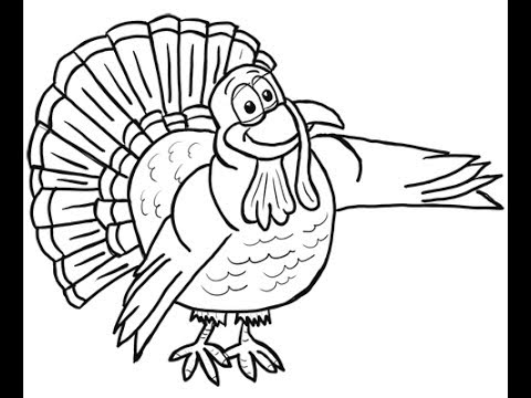 480x360 Learn To Draw A Thanksgiving Cartoon Turkey With Josh