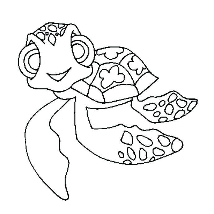689x689 Tortoise Coloring Page Tortoise Coloring Page Medium Size