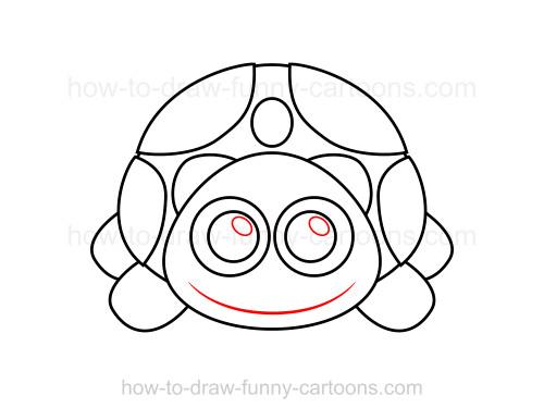 500x386 To Draw A Turtle
