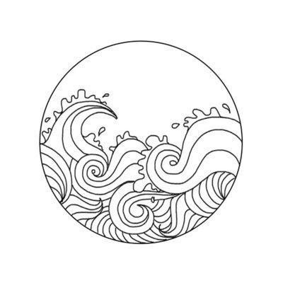 400x400 Waves Drawing Tumblr