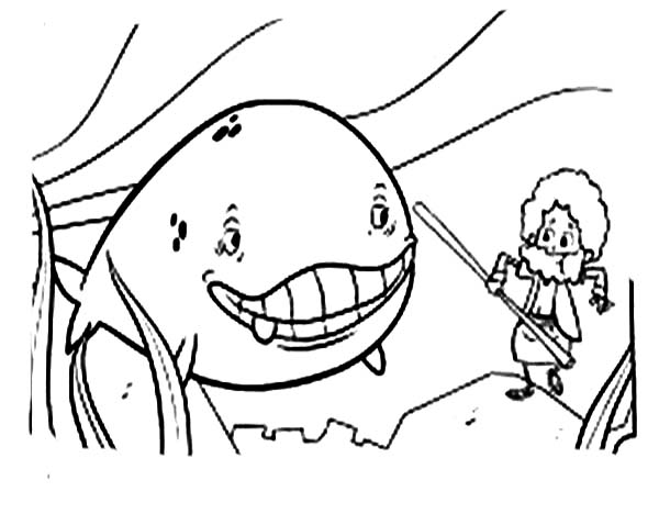 600x468 Cartoon Of Jonah And The Whale Coloring Page