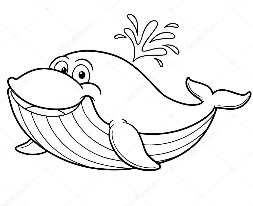 1024x832 Cartoon Whale Stock Vector Sararoom