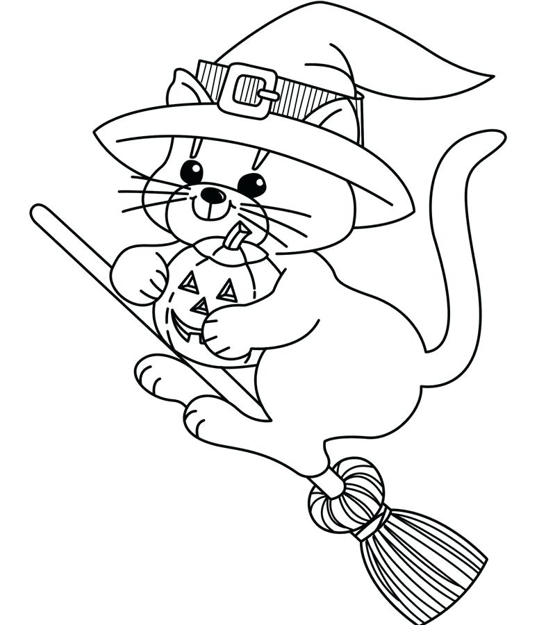Cartoon Witch Drawing at GetDrawings | Free download