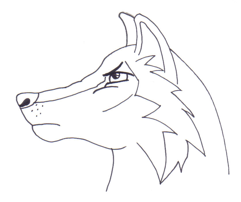 837x700 Cartoon Wolf Or Husky Stage 2 By Ruuwolf