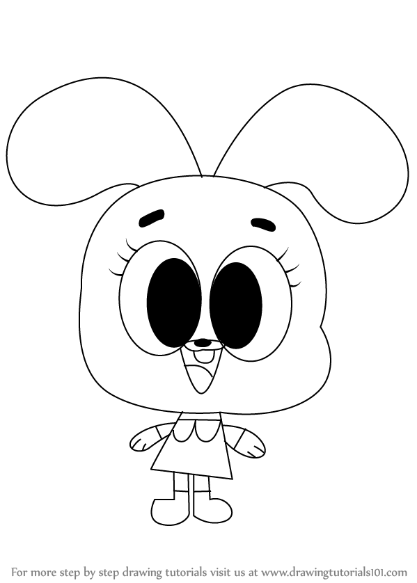 599x838 Learn How To Draw Anais Watterson From The Amazing World